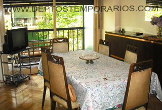 Apartment in Sarmiento y Billinghurst I